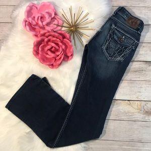 BKE Stella boot cut stretch jeans size 23